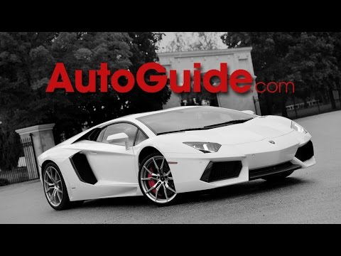 2014 Lamborghini Aventador LP700-4 Review