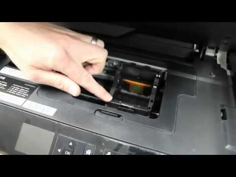 How To Resolve Printhead Cannot Move Message On The Dell V525w AIO Wireless Inkjet Printer Mp3