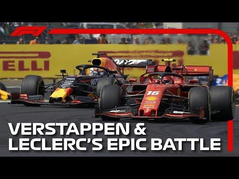 Verstappen And Leclerc's Epic Silverstone Battle | 2019 British Grand Prix