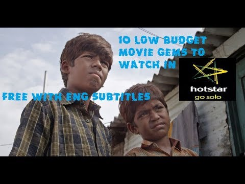 10  Tamil Low Budget Movie gems to Watch in HOTSTAR Free of Cost & With English Subtitles