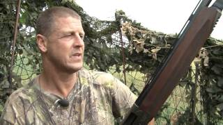Fieldsports Britain – Pigeons over wheat and a nice double rifle