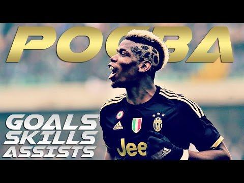 Paul Pogba - Insane Skills & Goals & Assists - Juventus 2015/2016