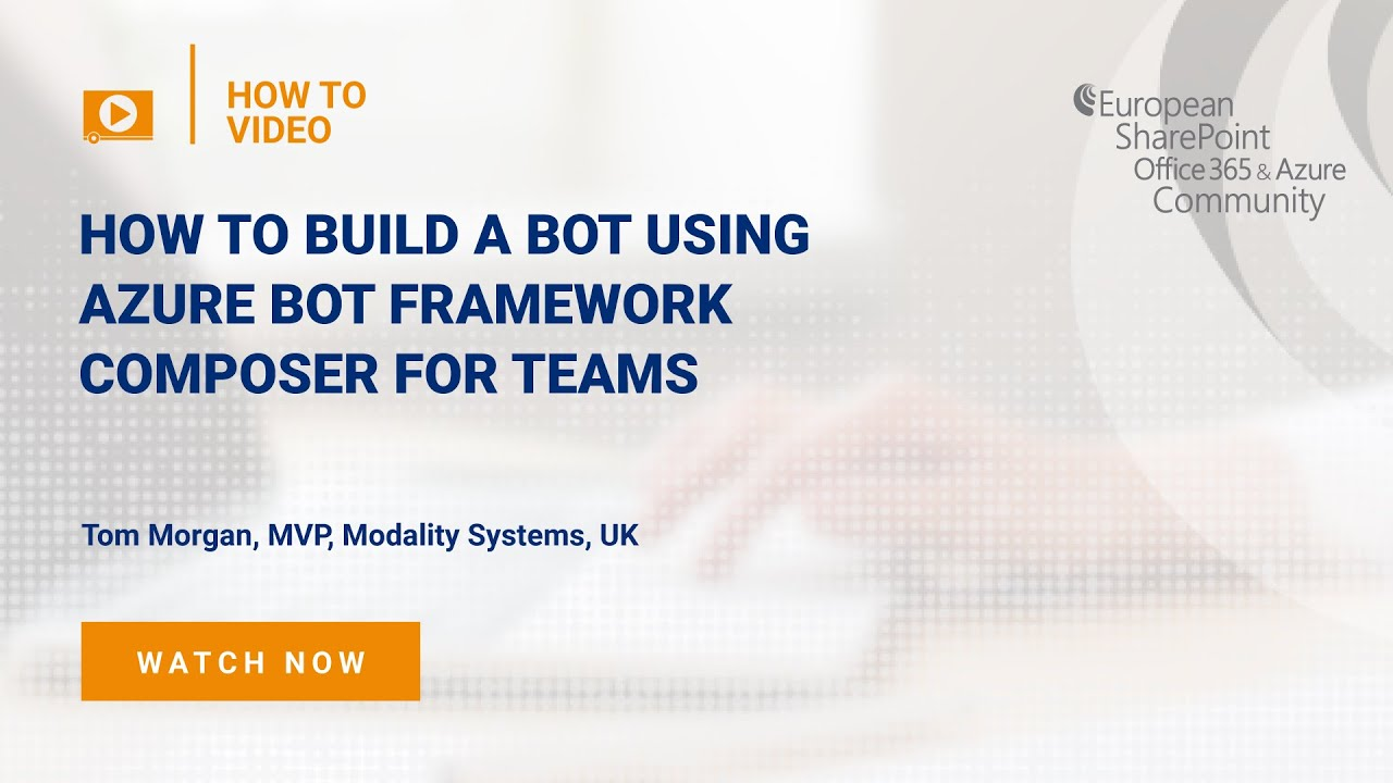 How To Build a Bot Using Azure Bot Framework Composer for Teams
