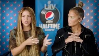 Shakira & JLo (Performance 2020 SuperBowl Halftime Show Interview)