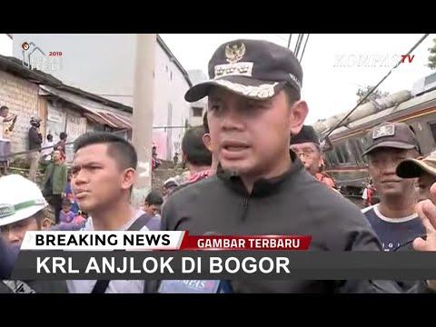 KRL Bogor Anjlok, Jadwal Perjalanan Terganggu