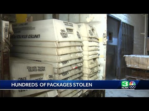 Customers wait for answers after nearly 300 Amazon packages stolen in Amador County