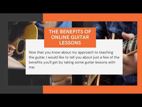 Live Online Guitar Lessons For Beginners!