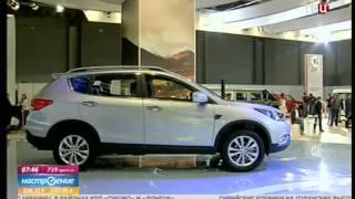 Российская премьера новых автомобилей DongFeng AX7 и L60 на выставке ММАС 2014