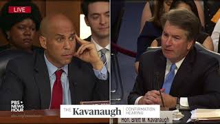 Sen. Booker asks Kavanaugh his opinion on gay marriage and LGBT rights