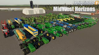 THE COW PROJECT   COUNTY LINE   FS19 Timelapse #2  Farming Simulator