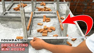 building-my-dream-mini-house-bricklaying-foundation-part-1