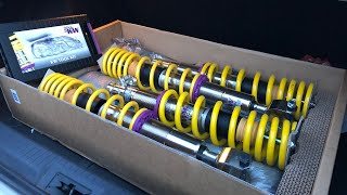 KW COILOVER INSTALL - CIVIC EG