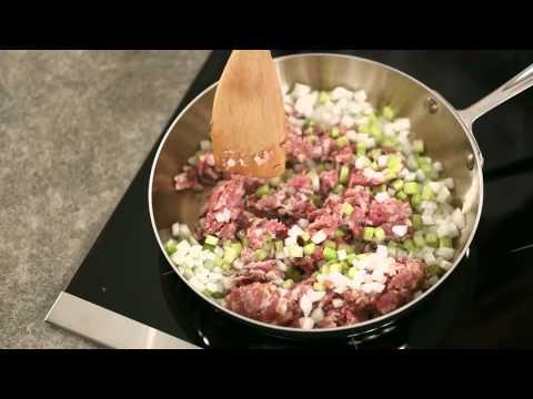 How to Make Sausage & Walnut Stuffing