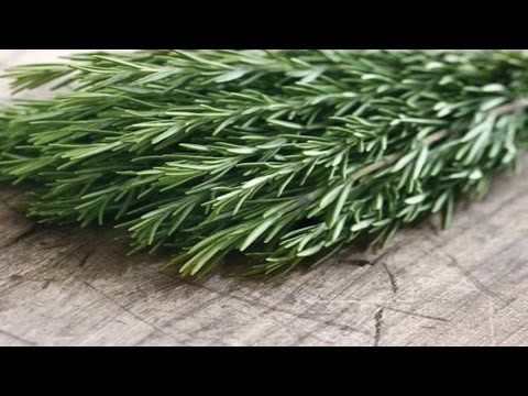 Video 6 Secret Health Benefits of Rosemary