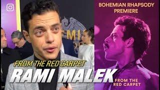Bohemian Rhapsody Experience —  From the Red Carpet | Rami Malek & Brian May