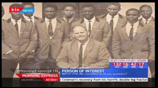 Person of Interest: Joseph Kibati Bart - is a former director of Intelligence - 28/3/2017