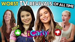 The Worst TV Reboots of ALL TIME (iCarly, Gossip Girl, Avatar: The Last Airbender) | React