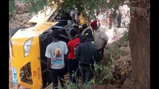 Driver arrested after deadly Mwingi crash - VIDEO