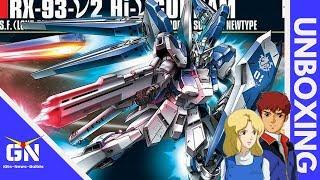 HG 1/144 Hi-Nu V Gundam - Unboxing (While waiting for the RG RX93 Nu)