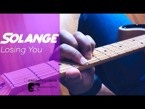 "This is a tutorial for ""Losing You"" by Solange "", sign up for lessons today!"