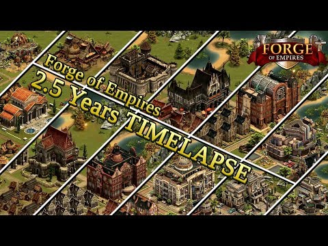 Forge of Empires -- 2.5 YEARS TIMELAPSE -- ZockIt