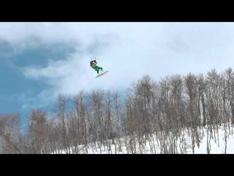נגעו בשמים - סקי מצנח שלג