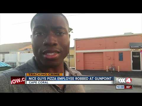Nice Guys Pizza employee robbed at gunpoint