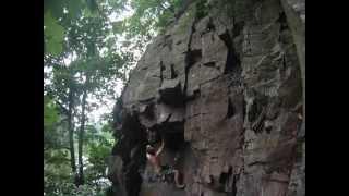 preview picture of video 'Pieta 6 - Májovka, lezení Písek'