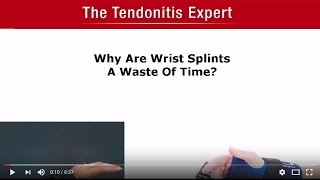 Why Are Wrist Splints A Waste Of Time?