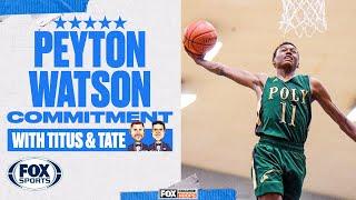 Five-Star Peyton Watson Commits to UCLA   FOX SPORTS