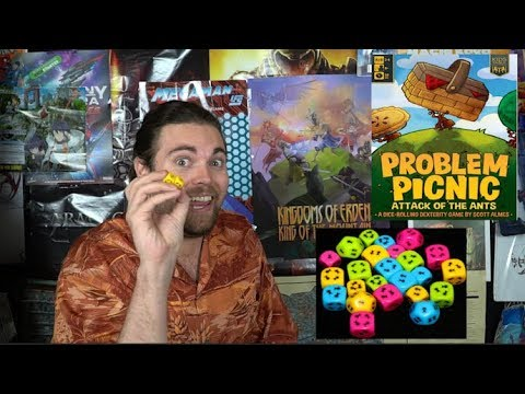 Problem Picnic: Attack of the Ants - Board Game Review