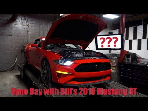 Bill's 2018 Mustang Makes Power On The Dyno