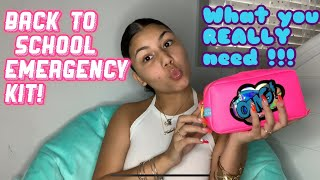 Everything You NEED In Your School Emergency Kit // ANNOUNCING GIVEAWAY WINNER😮‼️