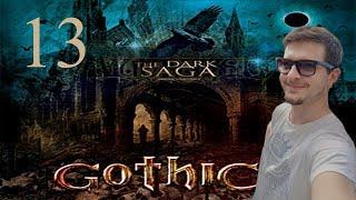 13#GOTHIC II NK - The Dark Saga - OBÓZ ORKÓW! NA POWIERZCHNI!