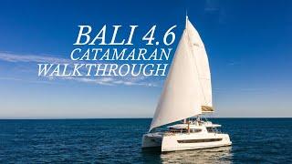 Walkthrough of the Bali 4.6 Sailing Catamaran
