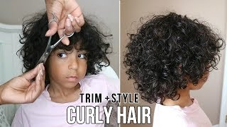 Kids Natural Hair: Trimming & Styling Curls