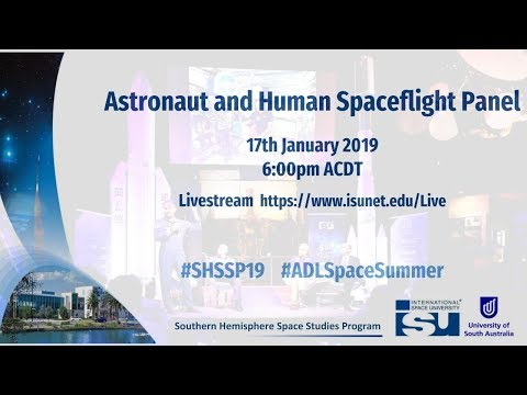 SH-SSP19 Astronaut and Human Spaceflight Panel