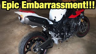 How to rebuild a wrecked Yamaha R1 part 8