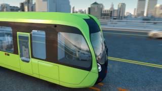 The Evolution of Public Transport - No Rails No Wires Autonomous As Well