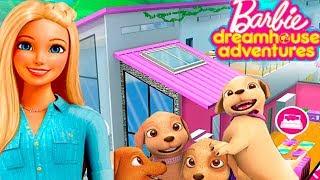 БАРБИ #2  Приключения и РЕМОНТ в Доме Мечты Мультик Игра для Девочек   Barbie Dreamhouse Adventures