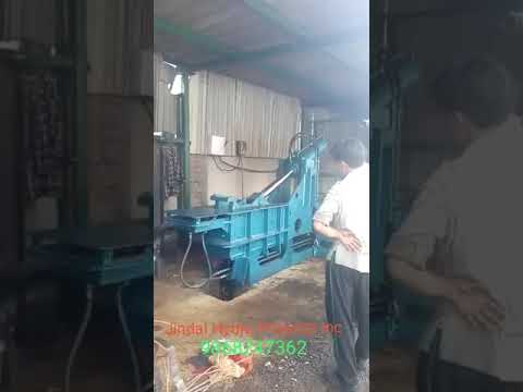 Hydraulic Baling Press with Auto Door