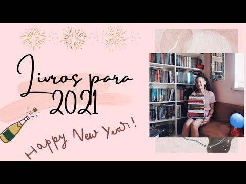 12 LIVROS para 2021! ? | Chay Aleluia