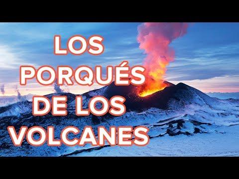 Curiosidades sobre los Volcanes para niños primaria