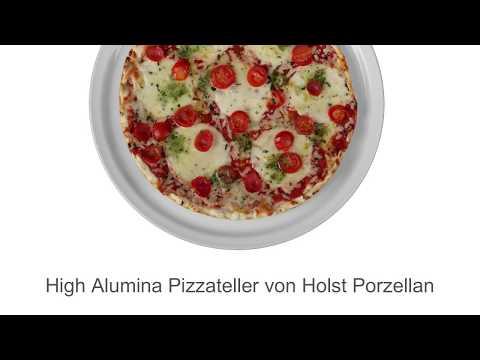 Holst High Alumina Pizzateller - Der wahrscheinlich stabilste Pizzateller auf dem deutschen Markt!