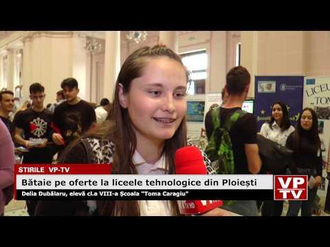 Bătaie pe oferte la liceele tehnologice din Ploiești