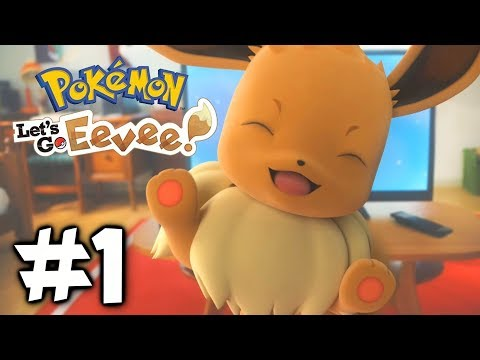 CATCHING EEVEE! – POKÉMON LET'S GO PIKACHU & EEVEE! – Gameplay Walkthrough Part 1