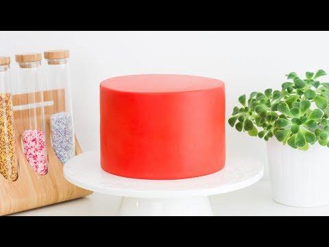 Como lograr BORDES RECTOS en tus tortas || Tan dulce