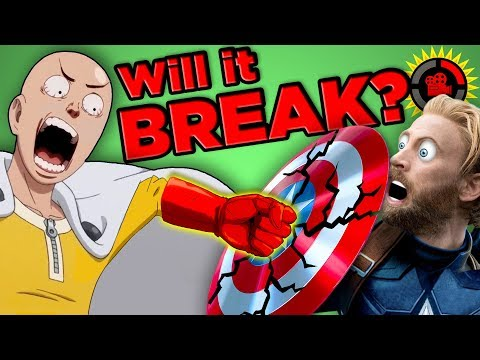 Film Theory: Will Marvel BREAK in One Punch? (Infinity War Vibranium vs. One Punch Man)
