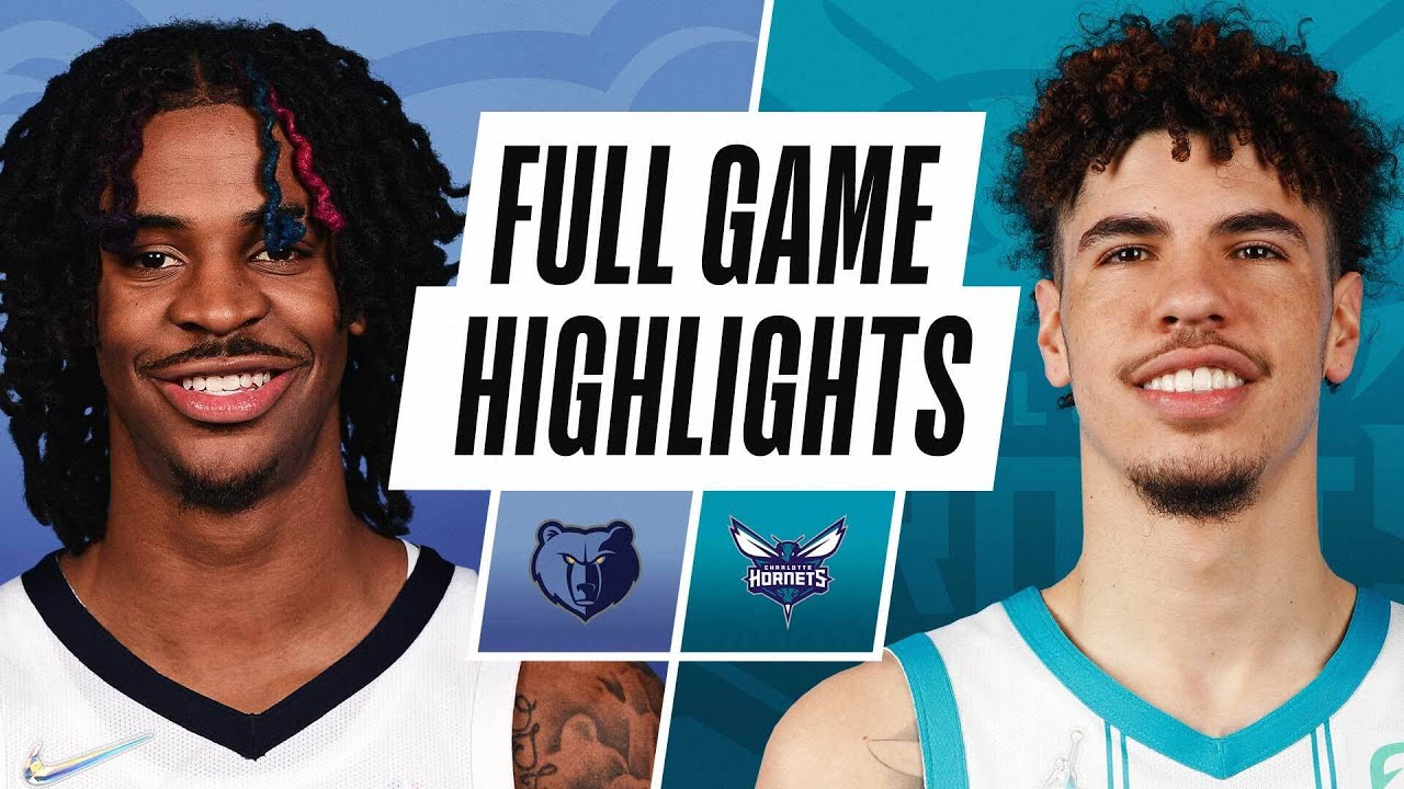 GRIZZLIES at HORNETS | NBA PRESEASON FULL GAME HIGHLIGHTS | October 7, 2021