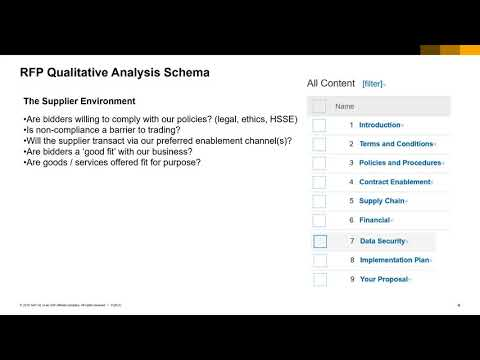 RFP Question Design - YouTube